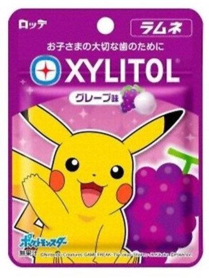 F13861 Lotte 樂天比卡超提子味無糖清涼糖 12g 3pcs