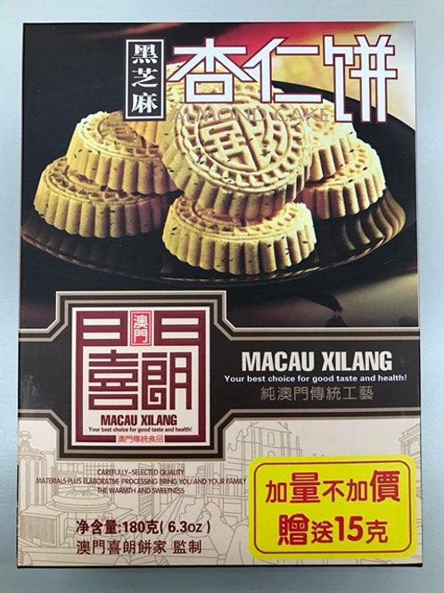 ZH0200黑芝麻杏仁餅 180g