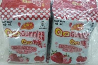 FS0013旺旺QQ糖(草莓味) 5連包 125g