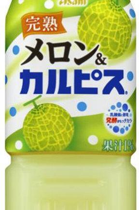 F13722 Asahi 朝日 CALPIS 完熟蜜瓜乳酸飲料 500 ml 3pcs