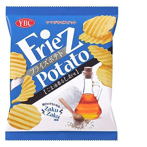 F13375 YBC 麻油鹽波浪薯片 60g (2件裝)