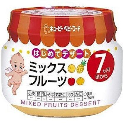 F14211 Kewpie 丘比嬰兒果蓉 - 綜合水果 (7 個月起) 瓶裝 70g 3pcs