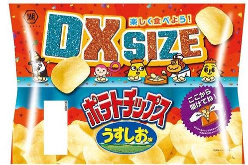 F14182 Koikeya 湖池屋 DX Size 特大裝淡鹽薯片 190g 12pcs