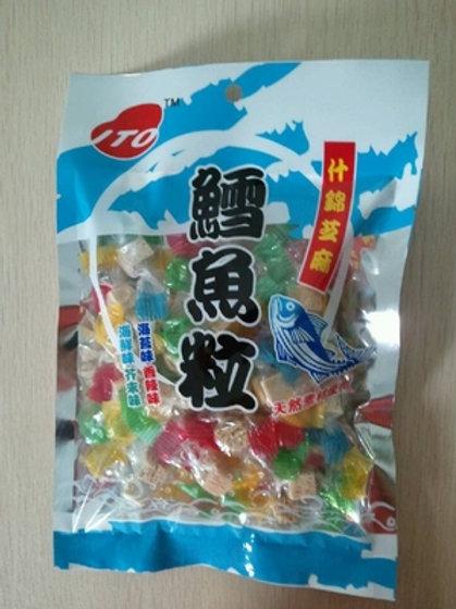 ITO0100ITO 什錦芝麻鱈魚粒 50g
