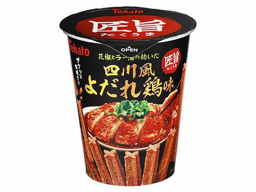 F13384 Tohato 東鳩匠旨四川醬雞小食 40g (2件裝)