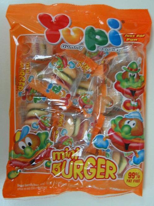 WH022   Yupi 漢堡飽橡皮糖 96g