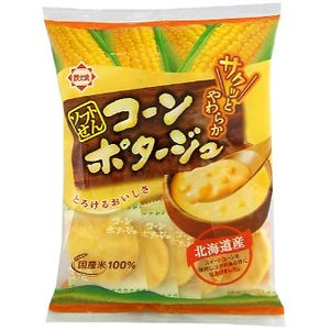 f7989 本田北海道粟米湯米餅 15's 12x1 特價