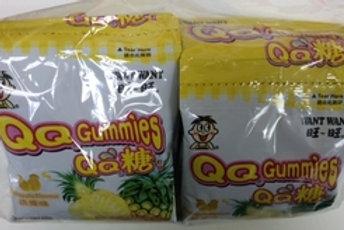 FS0152  旺旺QQ糖(菠蘿味) 5連包 125g