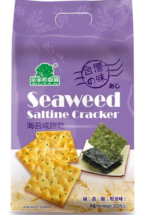 AJI474菓子町園道海苔咸餅乾 300g