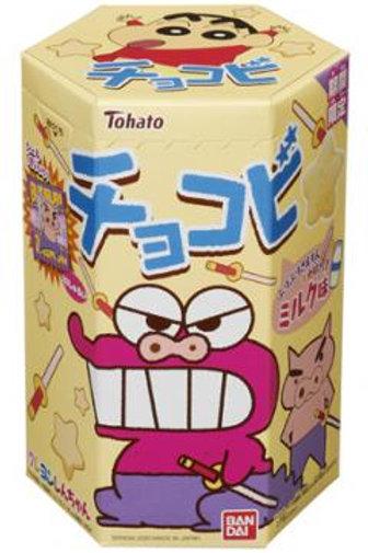 F13670 Tohato 東鳩 Bandai 小生牛奶朱古力小食 18g (2pcs)