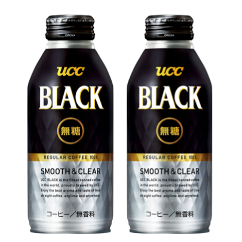 F10332 UCC 清純無糖黑咖啡 375g