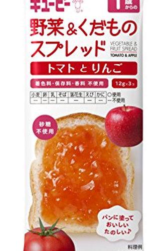 F14075 Kewpie 丘比嬰兒果醬-蕃茄蘋果味(1歲起) 12g