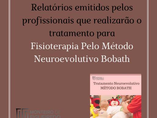 Relatórios emitidos por profissionais p Tratamento De Fisioterapia Pelo Método Neuroevolutivo Bobath