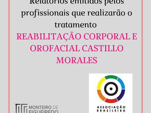 Relatórios emitidos por profissionais para Reabilitação Corporal e Orofacial Castillo Morales