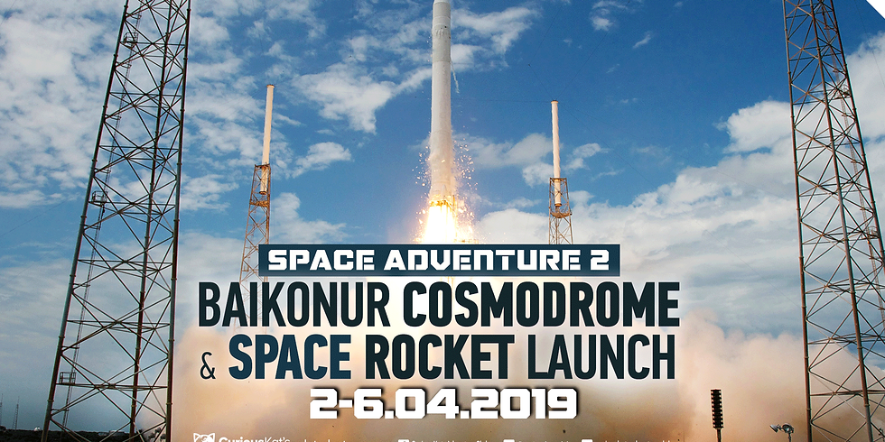 Space Adventure 2: Baikonur Cosmodrome & Space Rocket Launch