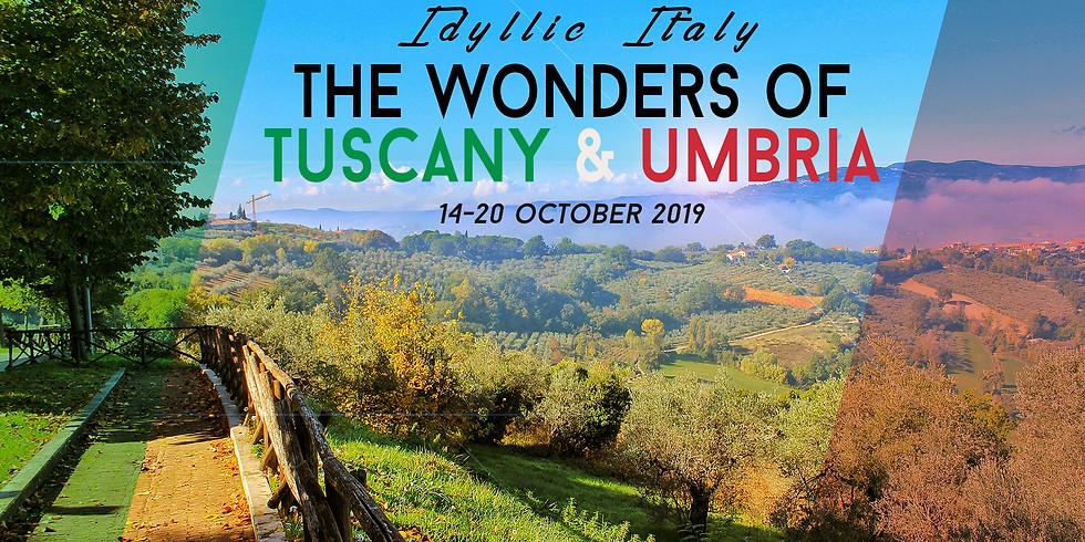 Idyllic Italy: The Wonders of Tuscany & Umbria