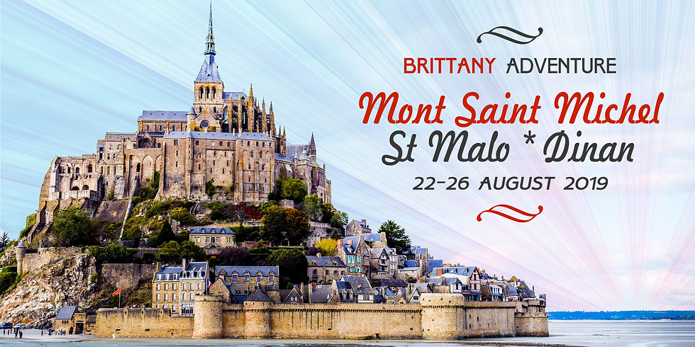 Mont Saint Michel, St Malo, Dinan: Brittany Adventure