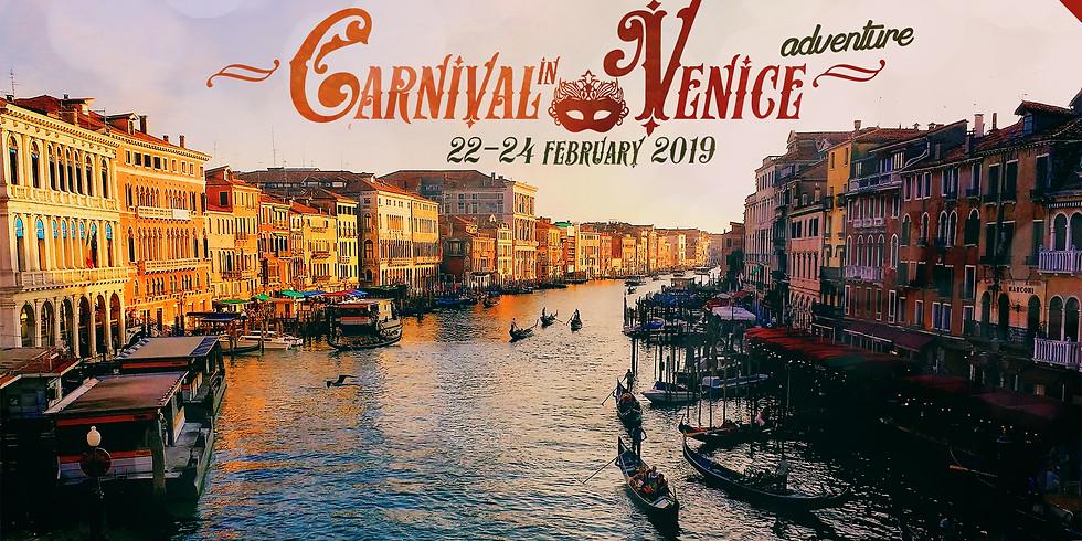 Carnival in Venice Adventure!