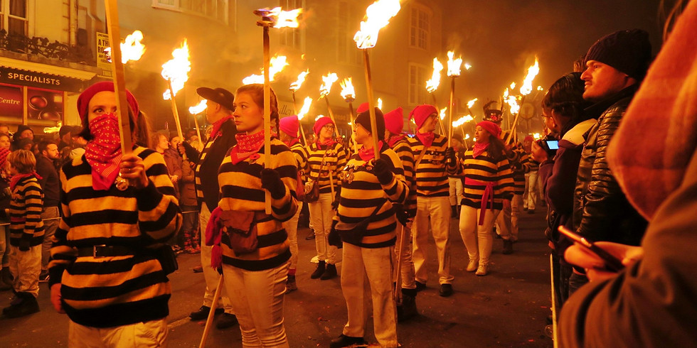 Lewes Guy Fawkes Night Adventure (coach option)