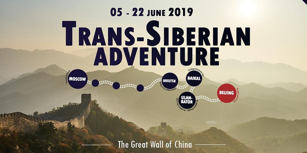 Trans-Siberian Adventure - Moscow, Siberia, Mongolia and Beijing!