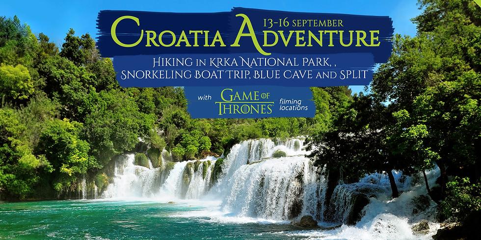 Croatia Adventure-Hiking In Krka National Park, Blue Cave And Split!