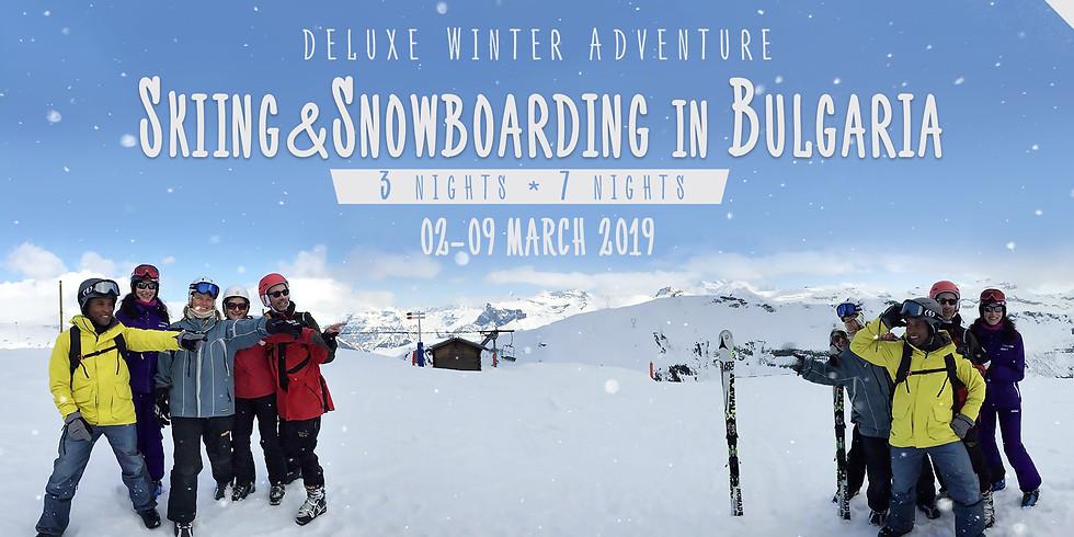 Skiing&Snowboarding in Bulgaria - Deluxe Winter Adventure (7, 4 or 3 nights)