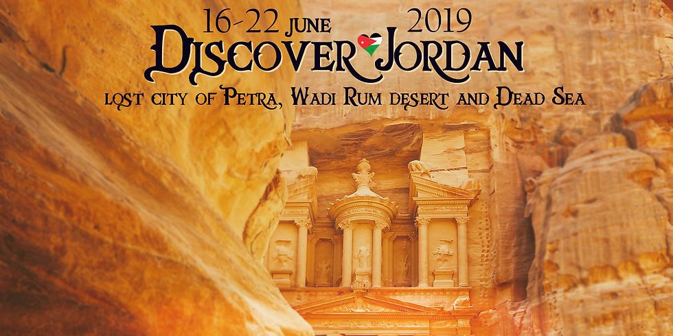 Discover Jordan- Lost city of Petra, Wadi Rum desert and Dead Sea