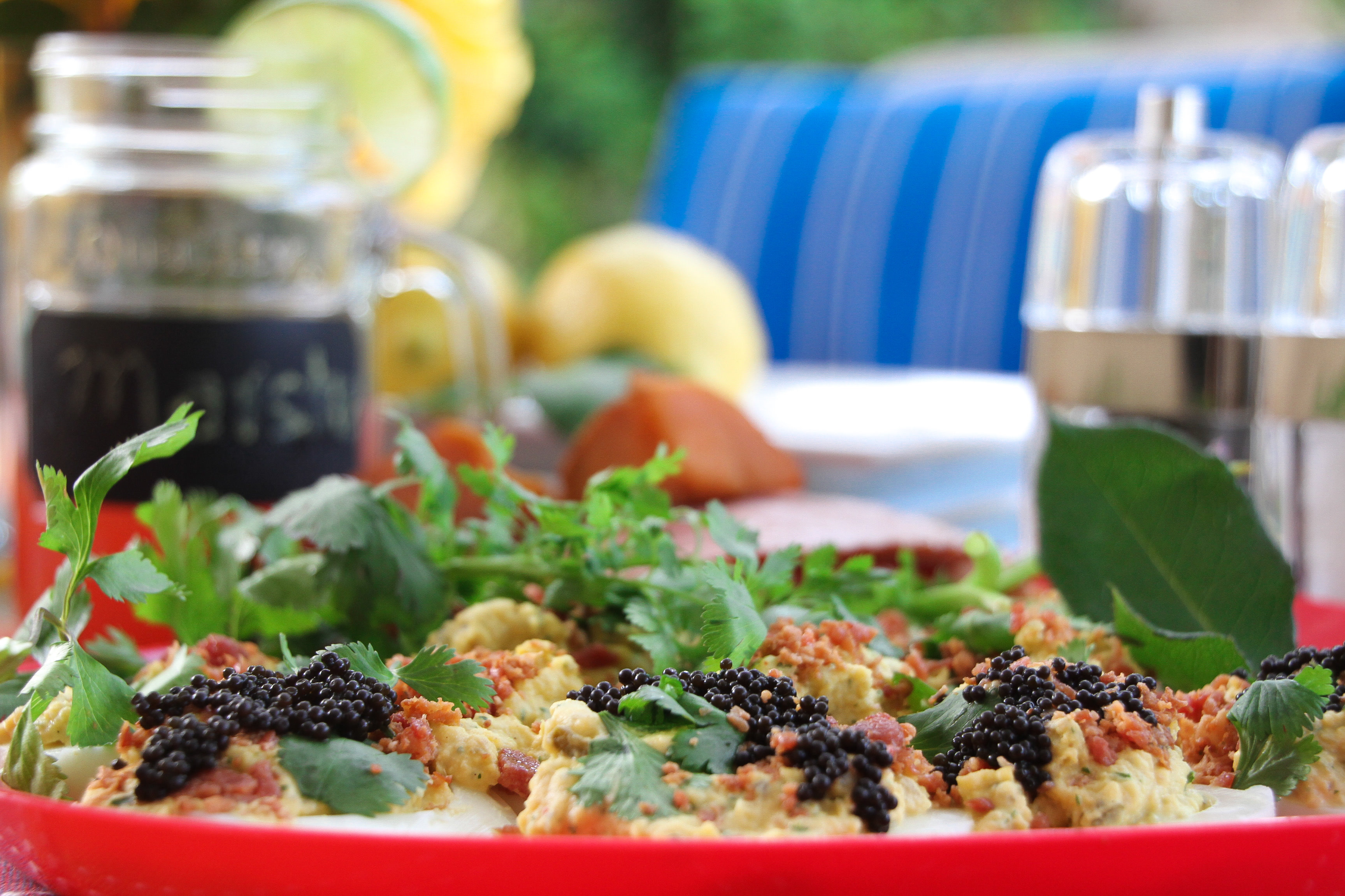 Food Caviar _Garnish_Wine_alfresco_patio