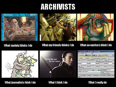 What archivists do, by Daniel Fredriksson