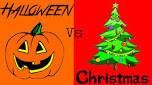 Halloween Vs Christmas!