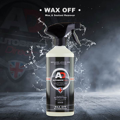 Wax Off - Wax, Sealant & Coating Removal 5ltr