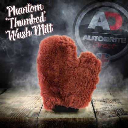 The Phantom - Luxury Lambswool Thumbed Wash Mitt