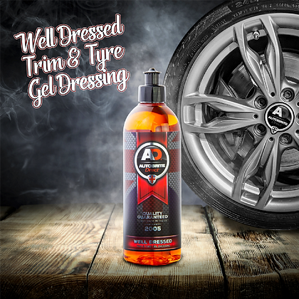 Autobrite Direct - Well Dressed - Trim & Tyre Gel Dressing 500ml