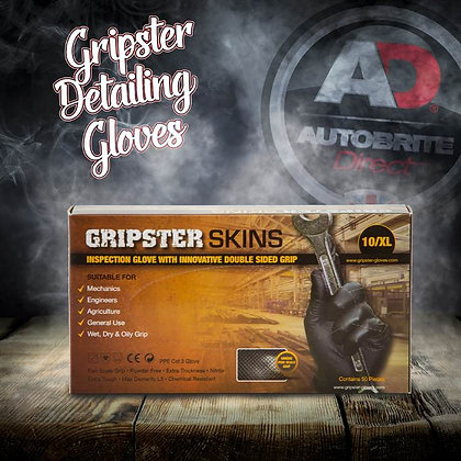GRIPSTER Skins - Extra Strong, Gripped Detailing Gloves