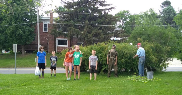 Community Service-Park Clean up