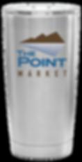 Point Market Coffee Tumbler