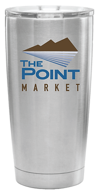 Point Market Coffee Tumbler