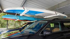 Roo Rack - Double and Roo Rack - Single in carport