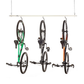 White Roo Rack - Bike holding three bikes