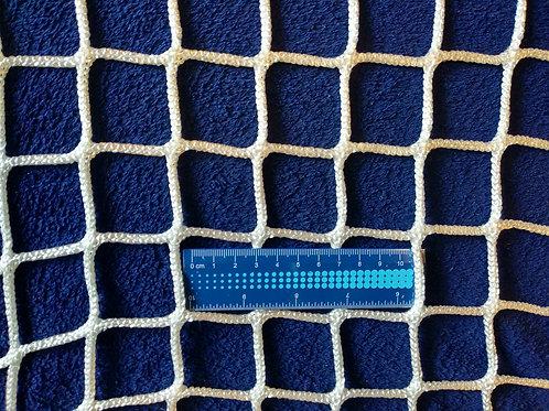 Сетка безузловая заградительная защитная 40х40, полиамид 4.0 мм