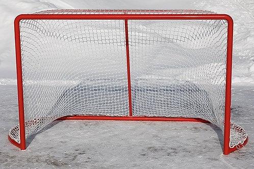 Cетка для хоккея с шайбой 1.25мХ1.85мХ1.35м, ПА40х2.6 (комплект 2шт)