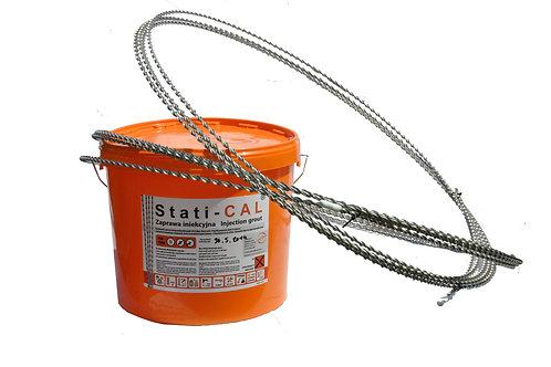 Винтовая спиральная тяга STATIbar 4.5мм бухта 10м остановка трещин в стене