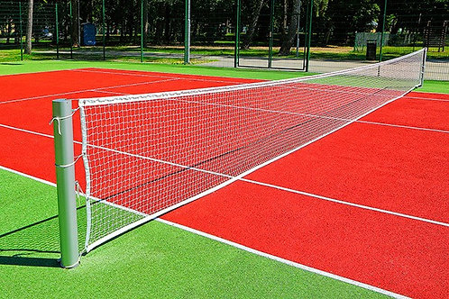 Сетка большой теннис 1.07мХ12.08м, ПА40х40х4.0х4