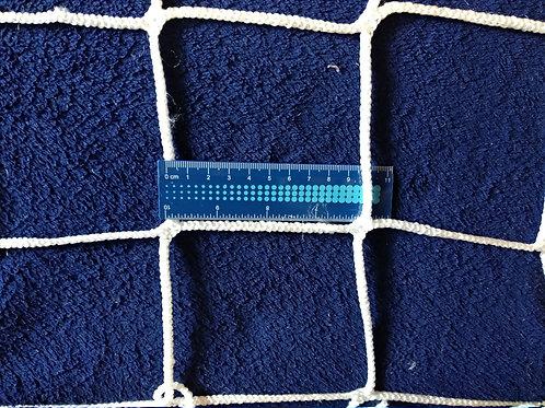 Сетка безузловая заградительная защитная 100х100, полипропилен 5.0 мм