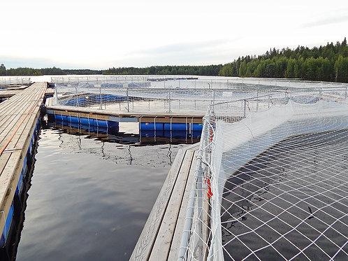 Садок для разведения рыбы (сетная камера) 5х5х4