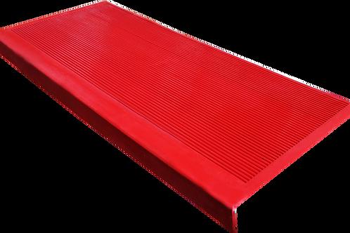 Противоскользящие накладки на ступени красный