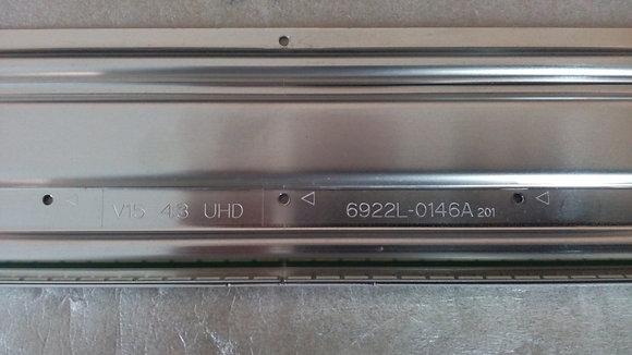 Купить подсветка 6922L-0146A V15 43 UHD с доставкой по России