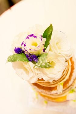 Wedding Cake Fresh Flower