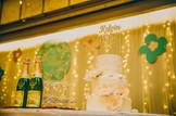 3 tier lace wedding cake