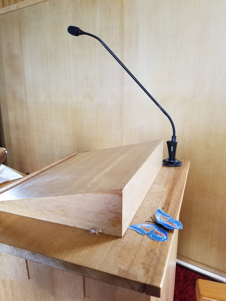 First Lutheran Astoria install